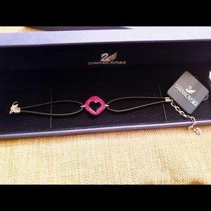 GENUINE SWAROVSKI Crystal heart bracelet
